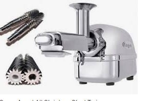 twin gear juicer,A selection from attractive types of juicer