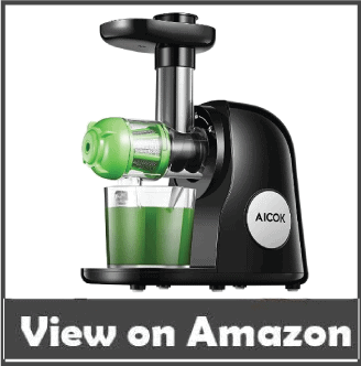 Aicok Slow Masticating one of the best juicers for celery